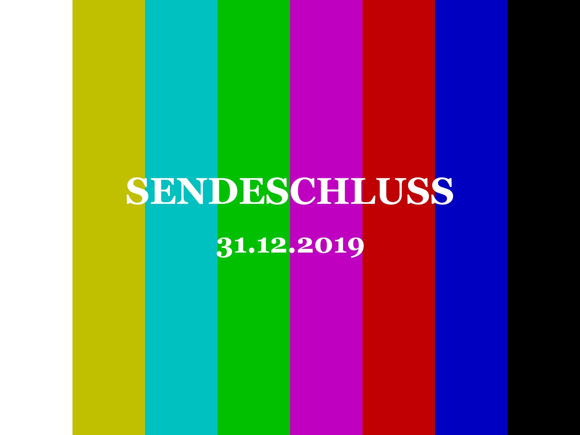 Sendeschluss - den SCHAUB-DIGITAL Blog gibt es nicht mehr!