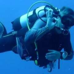 Ich und die Unterwasserkamera